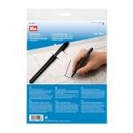 PR.611298 PRYM Прозрачная пленка дперевода деталей выкройки с маркером 1*1,5м уп.1набор