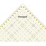 PR.611314 PRYM Проворный треугольник с сантиметровой шкалой для 12квадрата до 15см уп.1шт