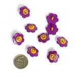 Пуговица арт.48275 Цветок цв.170110 17 мм
