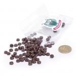 Пуговицы Мини на 2 прокола, 6 мм, уп.100шт. арт.КЛ21613 цв. коричневый