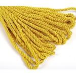 Шнур декоративный 5мм арт.ТВ DR-05 цв.158 желтый уп.9м