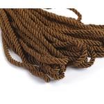 Шнур декоративный 5мм арт.ТВ DR-05 цв.168 т.коричневый уп.9м