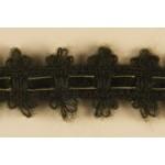 Тесьма арт.TBX.#002 с объемной нитью шир.40мм цв.хаки уп.22,85м