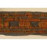Тесьма арт.TBX.#007 с объемной нитью на сетке шир.40мм цв.св.коричневый уп.22,85м