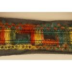 Тесьма арт.TBX.#007 с объемной нитью на сетке шир.40мм цв.радуга уп.44,5м