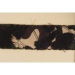 Тесьма арт.ТВД-1021019 B шир.40мм цв.черн.хаки уп.13,71м