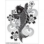 Трафарет текстильный Simply Screen. Рыбка, 20х25 см арт. PLD-98554