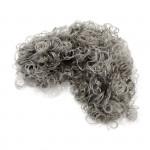 Волосы кудрявые Creativ арт.50054 цв.светло-серые уп.15 гр