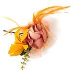 Зажим цветок арт. А-310 цв. розовый