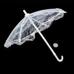 Зонт большой арт.КЛ.21584 26см гипюр цв.голубой