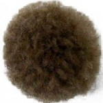 Пряжа для вязания Назар-Рус 751 'Помпон Мини' (100% акрил) уп.100 шт цв.011 светло-коричневый
