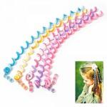 Украшения для волос арт.TBY.AVD1 цв. роз, желт, зеленый, 26 см, уп. 6 шт