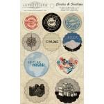 Вырубки Circles & Scallops 10 шт Abroad ABR013