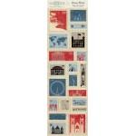 Вырубки Stamp Blocks 20 шт Abroad ABR010