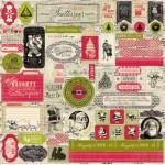Стикеры 30 x 30 Authentique Details Joyous JOY008