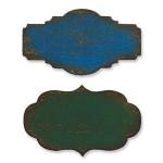 Форма для вырубки на магнитной основе Мини-этикетки Movers & Shapers Die 657214