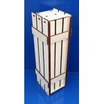 Деревянная заготовка Коробка для вина Ящик №2 38х11х11 6 мм
