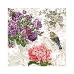 Салфетка бумажная 33 x 33 см (3 слоя, 20 шт в уп) Charming Garden