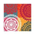 Салфетка бумажная 33 x 33 см (3 слоя, 20 шт в уп) Ethnic theme