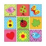 Салфетка бумажная 33 x 33 см (3 слоя, 20 шт в уп) Children`s pattern