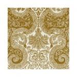 Салфетка бумажная 33 x 33 см (3 слоя, 20 шт в уп) Fairy Ornament gold