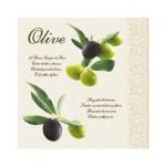 Салфетка бумажная 33 x 33 см (3 слоя, 20 шт  уп) Olive