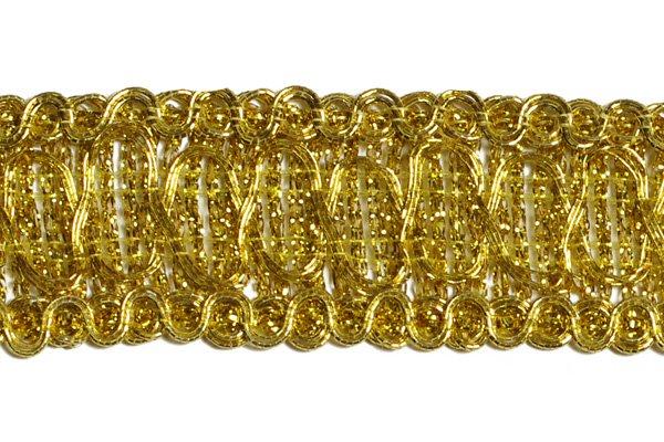 Тесьма шитая золотом